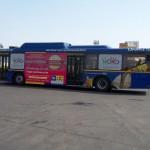 LIC Advertising on Delhi HOHO Buses